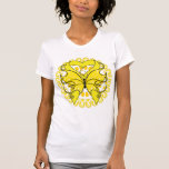 Endometriosis Butterfly Circle of Ribbons