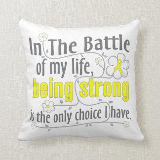 Endometriosis In The Battle Throw Pillow