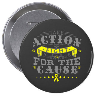 Endometriosis Take Action Fight For The Cause Buttons