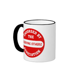 Endorsed by the Serving Others Association Coffee Mugs