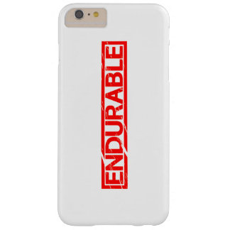 Endurable Stamp Barely There iPhone 6 Plus Case