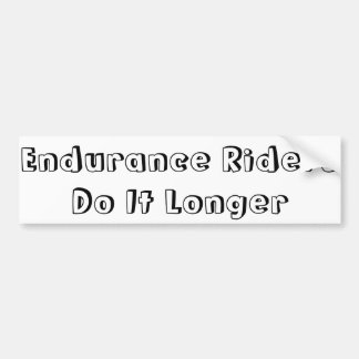 Endurance Riders Bumper Sticker