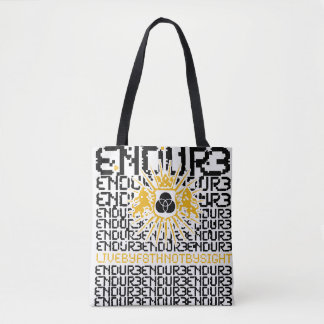 ENDURE BITMAP TOTE BAG