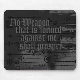 ENDURE NO WEAPON MOUSE PAD