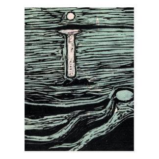 Endvard Munch Mystical Shore Postcard
