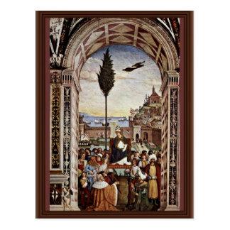 Enea Silvio Piccolomini, Also Known As Pope Pius Postcard