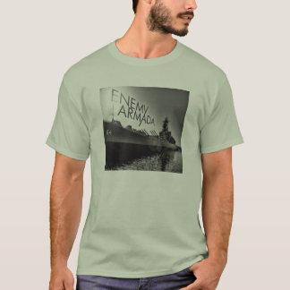 Enemy Armada Ship Logo Mens T-shirt Basic