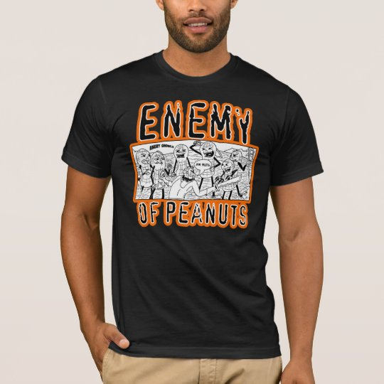Enemy of Peanuts Panel T-Shirt