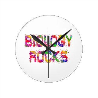 Energetic Biology Rocks Round Clock