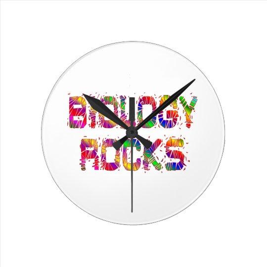 Energetic Biology Rocks Wallclocks