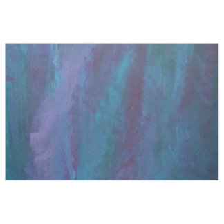 Energetic Craft | Teal Blue Purple Turquoise Ombre Fabric