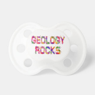 Energetic Geology Rocks Pacifier