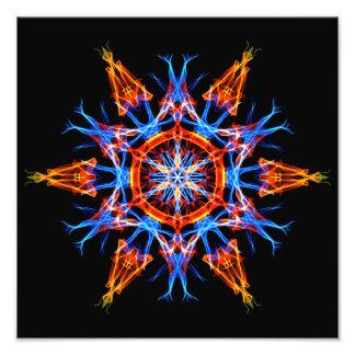 Energetic Geometry - Crystalline Creativity Photo Art