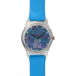 Energetic Style | Monogram Blue Purple Turquoise | Watch