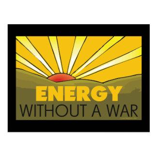 Énergie solaire, guerre cartes postales