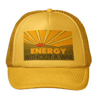 Énergie solaire, guerre casquette de camionneur