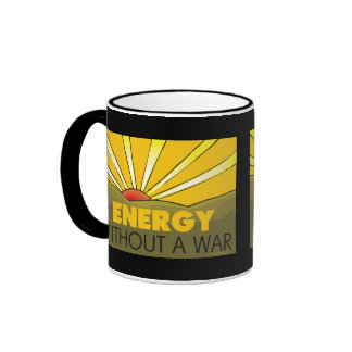Énergie solaire, guerre tasse