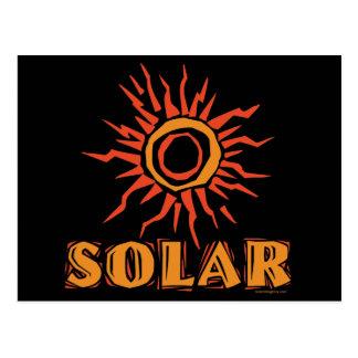 Énergie solaire Sun Cartes Postales