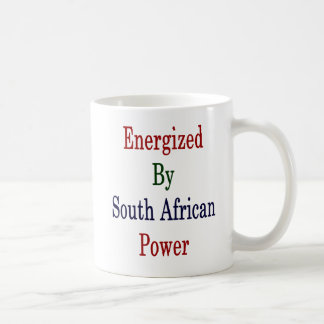 Energized By South African Power Coffee Mug