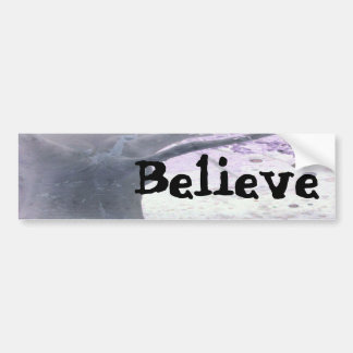 Energy and Life Bumper Sticker, Believe Bumper Sticker
