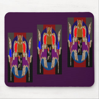 Energy Booster Decorative Jewels Mouse Pad