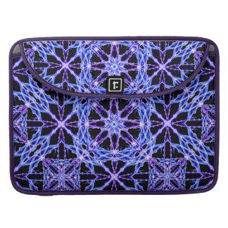 Energy Grid Mandala MacBook Pro Sleeves