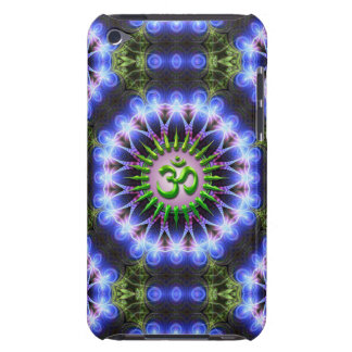 Energy Healing Green OM  iPod Touch Case-Mate iPod Touch Case