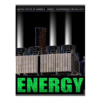 Energy Independence Postcard