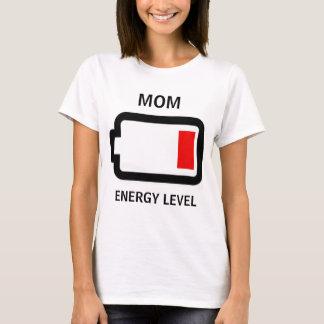 Energy Level Mom Shirt