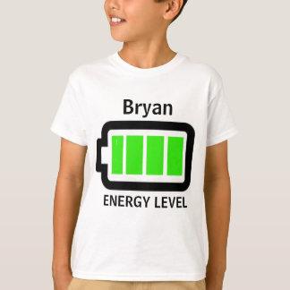 Energy Level Shirt