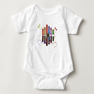 Energy of the sound baby bodysuit