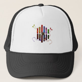 Energy of the sound trucker hat