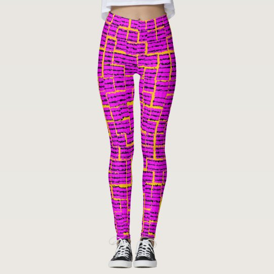 Energy Pink Vibrations Leggings
