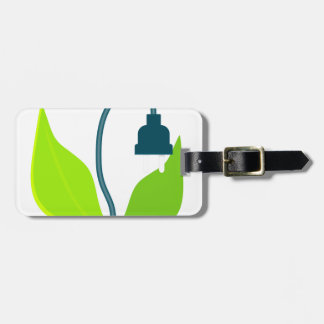 Energy Plant Luggage Tag