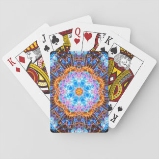 Energy Reactor Mandala Playing Cards