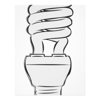 Energy Saving Light Letterhead