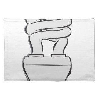 Energy Saving Light Placemat
