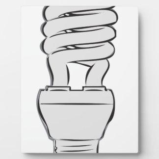 Energy Saving Light Plaque