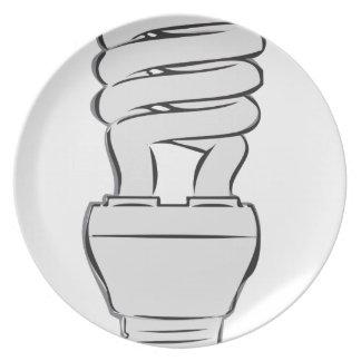 Energy Saving Light Plate