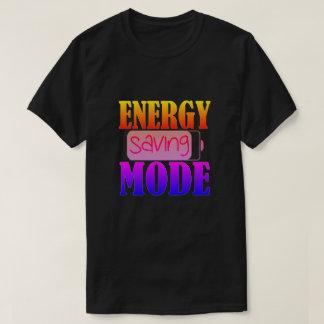 Energy Saving Mode T-Shirt
