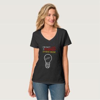Energy Saving Mode Women's T-Shirt