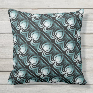Energy Tiled Throw Pillow