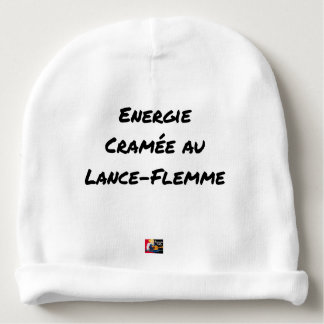 ENERGY WHICH BEEN ON FIRE WITH the LANCE-FLEMME - Baby Beanie