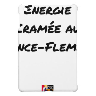 ENERGY WHICH BEEN ON FIRE WITH the LANCE-FLEMME - Cover For The iPad Mini