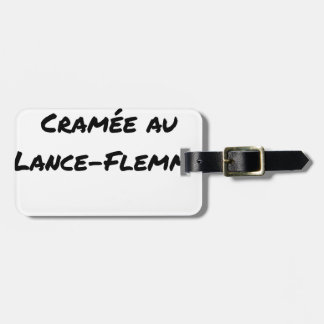ENERGY WHICH BEEN ON FIRE WITH the LANCE-FLEMME - Luggage Tag