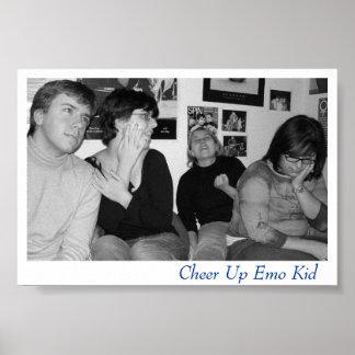 Enfant d'Emo Posters