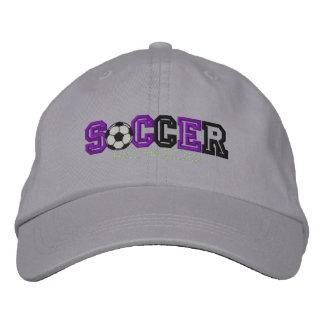 Enfant du football chapeau brodé