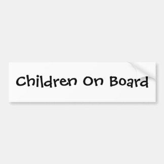 Enfants à bord adhésif pour voiture
