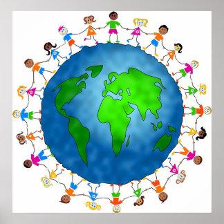 Enfants globaux poster