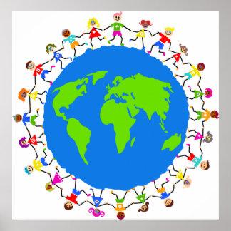Enfants globaux posters